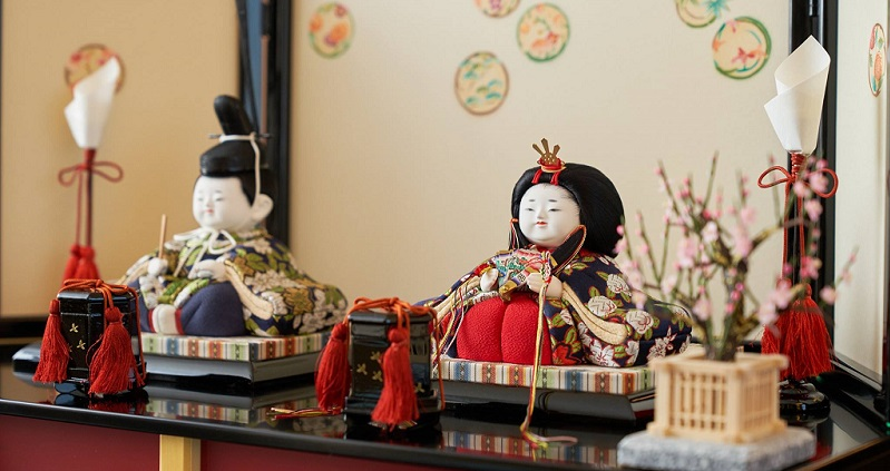 雛人形を飾る際のポイントの画像