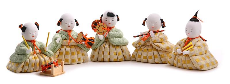五人囃子の画像